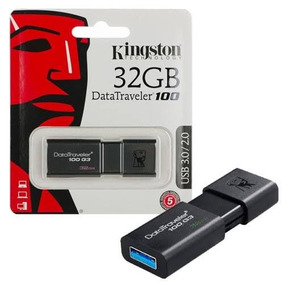 Pen Drive 32gb Dt100g3 Kingston Usb 3.1/3.0/2.0