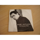 Marc Anthony Te Conozco Bien Cd Single Argentino