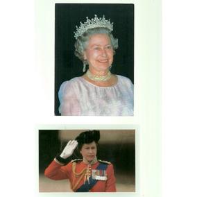 Cartão Postal -postais Reais - Rainha Elizabet Da Inglaterra