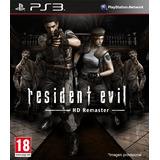 Resident Evil Hd Ps3 Remaster | Digital Oferta