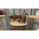 Estatua De Bronce Macizo Sobre Base De Mármol