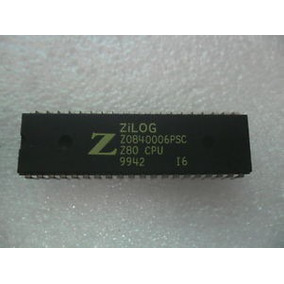 Integrado Mk3881 ( Z80 Pio X 2 Unidades) Lote Mk 3881 Pio