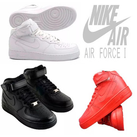 Nike Air Force 1 Mid Bota Cano Alto Swag Sneaker Basquete