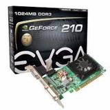 Tarjeta De Video Geforce Evga 210 Nvidia 1gb Ddr3 Pci Expres