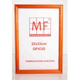 Marcos Diplomas Tamaño Oficio (22x33)