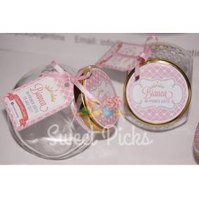 Souvenirs Frascos Carameleros Incluyen Relleno (x10 U)