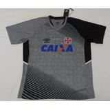 Rara Camisa Vasco Treino Oficial Umbro Cinza 2014 2015