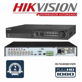 Hikvision Dvr 16 Canales Turbo Hd Ds-7316hqhi-f4/n