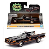 Batimovil Retro 1966 Auto De Batman / Diecast Metal En Caja