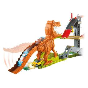 Hot Wheels Pista Ataque Do T-rex Mattel