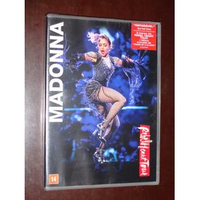 Dvd Madonna Rebel Heart Tour [ Dvd Original Lacrado ]