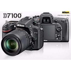 Camara Reflex Nikon D7100 Kit 18-105