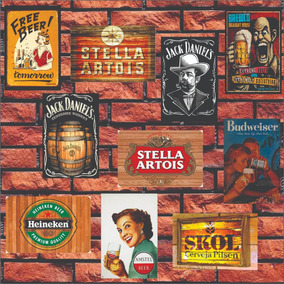 Placas Decorativas Mdf -30x20cm - Retrô Vintage Bebidas Bar