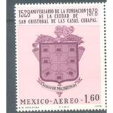 450 Años San Cristobal De Las Casas Chiapas Escudo 1978 C558