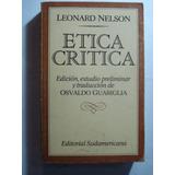 Etica Critica. Leonard Nelson