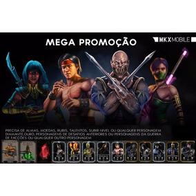 Mega Promoção Mkx Android, Almas Moedas Personagens Etc 2017