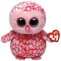 Peluche Ty Beanie Boos 25cm Lechuza Buho Pinkie Ojos Grandes