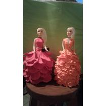 Muñecas Vestida De Goma Eva