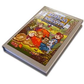 Bíblia Ilustrada Infantil Capa Dura