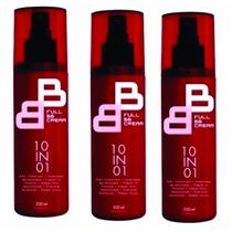Full Bb Cream 10 Em 01 Felithi - 3 Unidades - Promoção