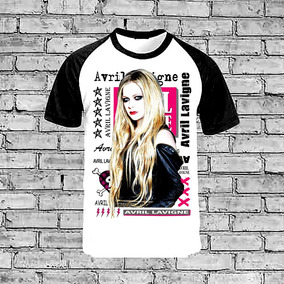 Camiseta Raglan Avril Lavigne What The Hell