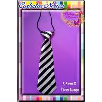 Lote 5 X $300 - Elegantes Corbatas Niños -6.5 X 27cm Largo