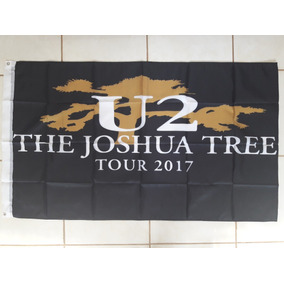 Bandeira U2 The Joshua Tree Tour (100% Poliéster) 90x150 Cm