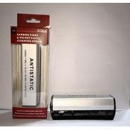 Cepillo Limpiador Profundo Vinilo 2 En 1 Premium Antiestatic