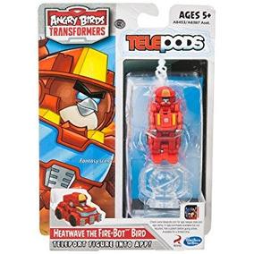 Angry Birds Transformers Heatwave La Figura Del Pájaro Del