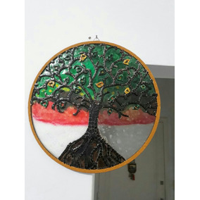 Mandala Arbol De La Vida X 30 Cm