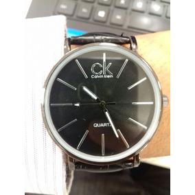 Relógio Masculino Ck De Luxo + Caixa + Brinde