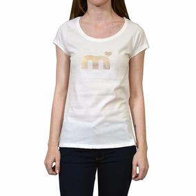Remera Logo Mod 41164 Logo Foil Mujer Mistral Mver18