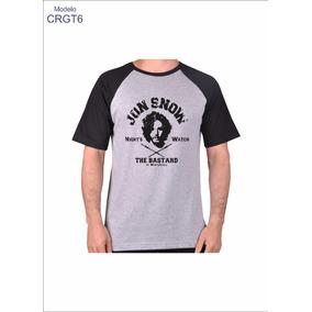 Camiseta Raglan Game Of Thrones Camisa Blusa