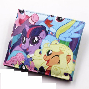 Cartera Mlp My Little Pony Anime Piel Sintetica