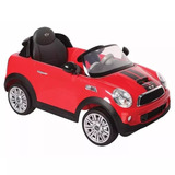 Auto A Batería Mini Cooper Rojo Bebesit - Envíos Gratis!