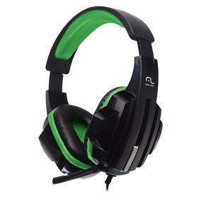 Fone De Ouvido Headset Gamer P2/cabo Nylon Verde