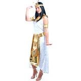 Fantasia Cleopatra Egípcia Adulto Sulamericana Envio - 24hrs