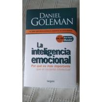 Libro La Inteligencia Emocional / Daniel Coleman
