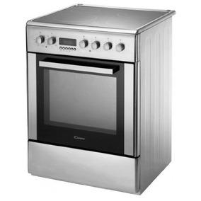 Cocina Electrica + Vitroceramico 60 Cm Acero Candy Cvv6525x
