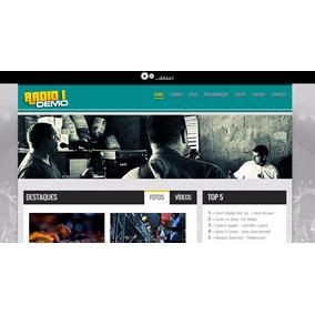 Script Php Portal Web-rádio Responsivo Com Area Admin Html5
