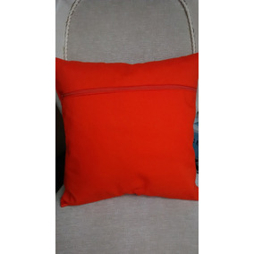 Almofada Com Capa Removivel Ziper