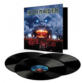 Iron Maiden - Rock In Rio / 3-lp 2017 (180g)