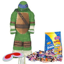 Kit Tortugas Ninja Tortugas Ninja Leonardo Piñata