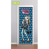 Adesivo Para Porta Auto Colante Monster High Boneca Mod.18
