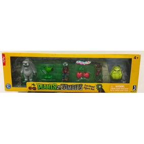 Plantas Vs Zombies Set De 6 Figuras Pop Cap Envío Gratis