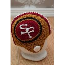 Gorros Tejidos Crochet Tipo Casco 49s