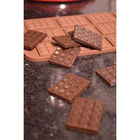 Molde Mini Tableta De Chocolate