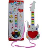 Guitarra Musical Infantil Para Crianças E Bebe Interativa 3d