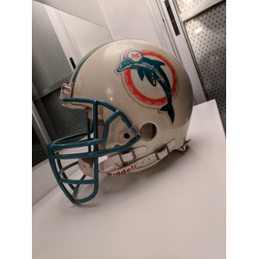 Casco Nfl Miami Dolphins Autografiado Por Dan Marino Riddell