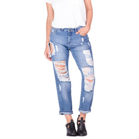 Jeans Mujer Sallie Roto Mid Stone Lee
